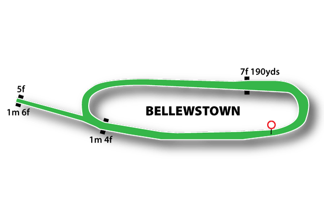Bellewstown Flat Track Course Map