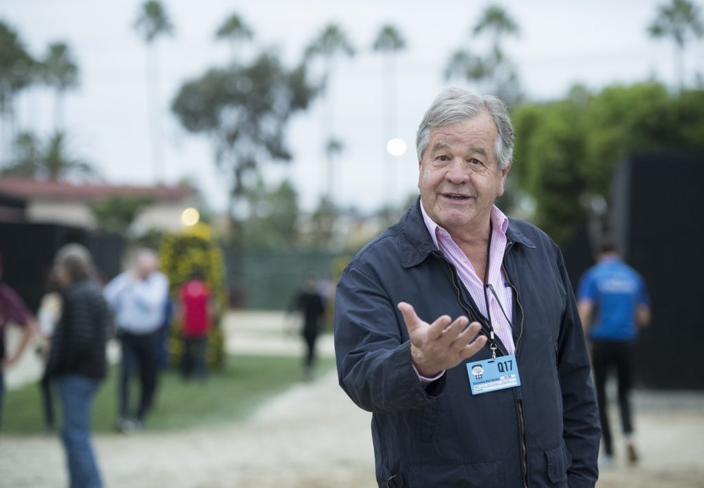 Sir Michael Stoute looks all set for a good season