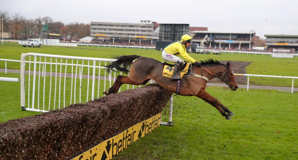 Lostintranslation and Robbie Power winning the Haydock Betfair Chase, 23/11/19