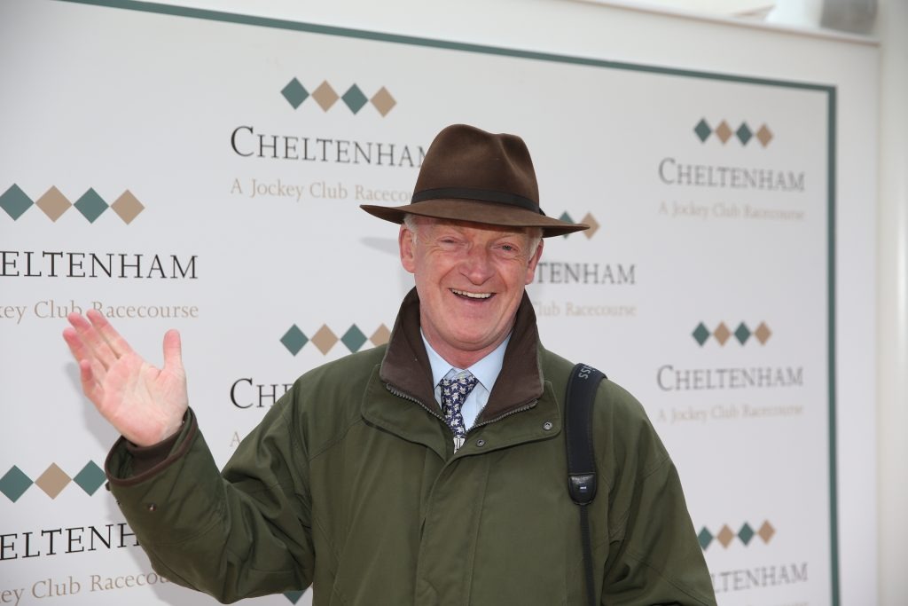 Willie Mullins at the 2018 Cheltenham Festival